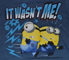 Despicable ME Boys Long Sleeve Skater Top Minion Tee T-Shirt Official Licensed