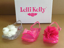 Lelli Kelly NEW STOCK Summer jelly shoes + gift 3 styles available many sizes