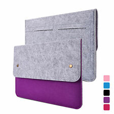 Wool felt Laptop Case Bag Cover For Macbook Air 11'' 13'' Pro Retina 13'' 15''