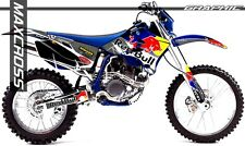 YAMAHA 2003-2006 WR250F WR450F REDBULL STYLE FULL GRAPHIC KIT