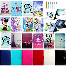 Various Universal Leather Case Stand Cover For Android 4.4 KitKat 7 inch tablet