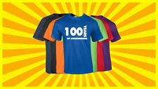 100th Birthday T Shirt Happy Birthday T-Shirt Funny 100 Years Old Tee 7 COLORS