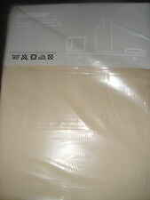 Brand New IKEA Light Beige Sheet set 4 pcs Martorp 400TC Full ( Double ), Queen