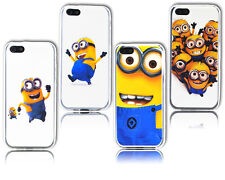 New Despicable Me Minion Gel Soft Silicone Case Cover For Apple iPhone 4 4S 4G