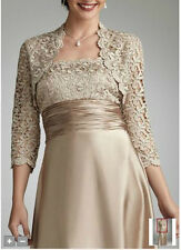 Free Jacket Wedding Gowns Mother of the bride Outfits formal evening Party Dress
