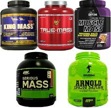ALL the MASS GAINER Protein Products - Every Top Weight Gain Brand - One Listing