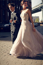 New$480 Anthropologie BHLDN Lucca Maxi by Watters & Watters Size 2 Minor Defects