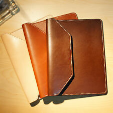 Luxury Handmade Genuine Leather Pouch Sleeve Holster case For iPad 2/3/4 Air 2