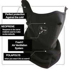BLACK Ski Snowboard Motorcycle Bicycle Winter face mask Neck Warmer Warm CH