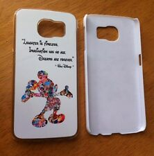 Walt Disney Quote Mickey Mouse Phone Case Cover for Samsung Galaxy S6