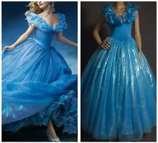 ❤ Princess Cinderella Adult Women Dress Cosplay Party Costume Sandy Fairytale ❤