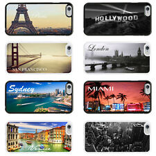 Places Citys Case Cover for Apple iPhone 4 4s 5 5s 6 6 Plus - 22