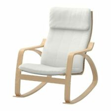 Ikea POANG Rocking Chair Armchair Birch Veneer With Cushion Color of Your Choice