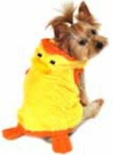 Wag-a-tude Easter Yellow Chick or Bunny Hoodie Dog Costume