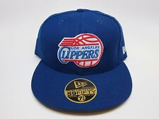 New Era NBA LOS ANGELES CLIPPERS 59FIFTY MEN Fitted Caps [BLUE-WHITE-RED]