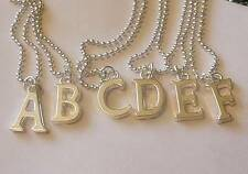 Pick One!  ***INITIAL**A-Z***  Letter*Silver*Charm*Necklace