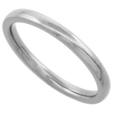 2MM Dome Titanium Toe/Thumb Ring Wedding Band Stackable Comfort Fit Size 1-11.5