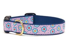 UP COUNTRY FLOWER FIELD DOG COLLAR NYLON/RIBBON USA MADE