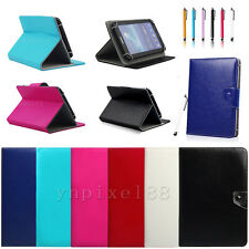 "Universal Leather Case Stand Cover For 9.7"" 10"" 10.2"" 10.1"" 10.5"" inch Tablet PC"