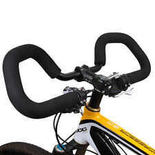 25.4/31.8mm Butterfly Handle bar+Grips for Multi Position City/Trekking/Touring