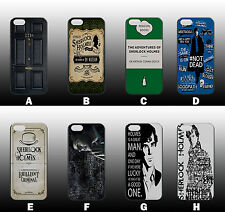 SHERLOCK HOLMES QUOTES DRAMA IPHONE 4/4s 5/5s 5c 6 6 plus NEW HARD CASE COVER