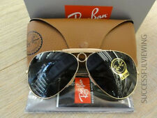 NEW, RAY BAN SHOOTER AVIATOR GOLD RB 3138 001 CLASSIC GREEN-GRAY, 58-62mm