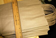 Kraft Brown Paper Shopping Bags with Rope Handles