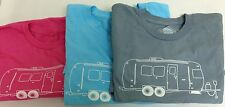 AIRSTREAM CAMPER T SHIRT NWT.The trailer life, is good.Vintage RV Parts. S - 2XL