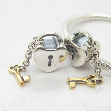 Authentic S925 Silver KEY TO MY HEART CHARM