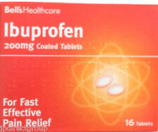 16 Ibuprofen 200mg tablet Pain Relief Headache migraine fever SAVE £ Multi-Pack