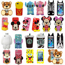 3D Cartoon Silicone Back Case Cover Super Hero for iPhone & Samsung Galaxy E5 J1