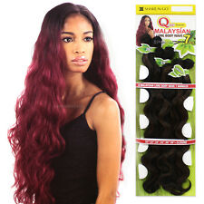 Que Malaysian Long Body Wave 7PCS Bundle Hair Weaving Blended Extension