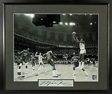 "Michael Jordan Signature Series 11x14 Photo Framed ""Winning Shot"" UNC - 2 Sizes"