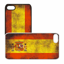 Spain Spanish Flag Apple iPhone Plastic Cell Phone Case 4/4S 5/5S 6/6 Plus