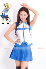 Hot Anime Fairy Tail Lucy Heartfilia Cosplay Clothing Uniform Costume Skirts