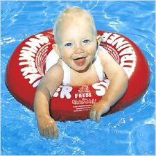 Freds Classic Swimming Trainer Swimtrainer Toddler Baby Ring + Safety Harness BN