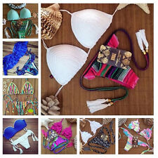 2015 Women's Bikini Set Sexy Bra Floral Swimsuit Push-up Swimwear Summer Beach