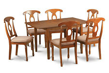 Milan 7 Pieces dinette set for small spaces- table and 6 kitchen chairs