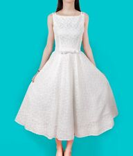 2015 New Audrey Hepburn Dress Retro Lace Sleeveless 50s 60s Vintage Rockabilly