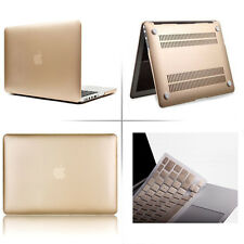 "GOLDEN Hard Rubberized  Macbook Cover Shell Case for Air Pro Retina 11"" 13"" 15"""