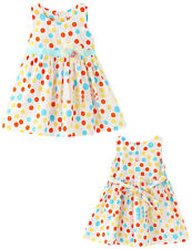 Baby Girls Summer Polka Dots Tutu Party Dress Tulle Beach Dress Size 6-24M