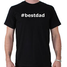 Hashtag Bestdad Fathers Day Funny Slogan T-Shirt