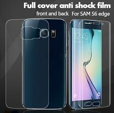 FULL COVERAGE SAMSUNG GALAXY  S7 EDGE S7 S6 EDGE PLUS SCREEN GAURD FRONT BACK