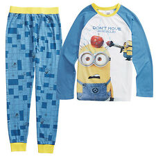 NEW Minions Pyjama Set - Blue Kids
