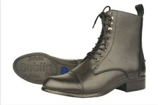 NEW Dublin Victory Lace Paddock Boots Ladies - Black & Brown - Many Sizes!