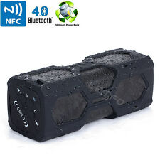 Outdoor Waterproof NFC Wireless Bluetooth Speakers Portable For iPhone Samsung