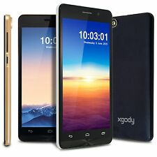 "5.5"" Android 4.4 2Core Dual Sim Unlocked Cell Phones GPS 3G/GSM/WCDMA Smartphone"