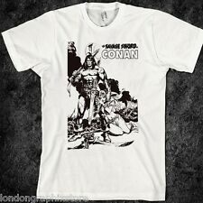 Conan the barbarian T-Shirt, samurai, assassins, anime, SZ S-2XL, tank top, new