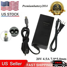 90W power charger AC Adapter  for IBM Lenovo ThinkPad T400 T410 T60 R61 +cord