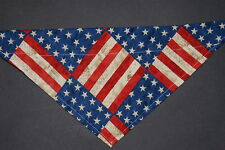 Dog Bandana, Over The Collar,clothes, pet, Size M, L,Xl, American Flag!